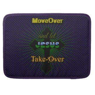 Lassen Sie Jesus übernehmen MacBook Pro Sleeve