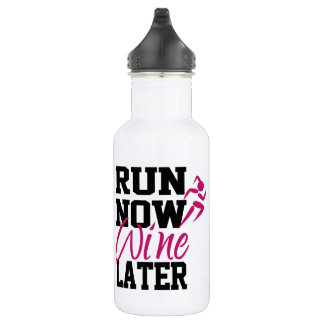 Lassen Sie jetzt Wein später laufen Edelstahlflasche