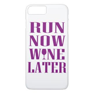 Lassen Sie jetzt Wein später laufen iPhone 8 Plus/7 Plus Hülle