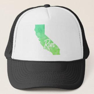 Lassen Sie Kalifornien laufen Truckerkappe