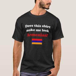 Lassen Sie mich die dunklen Shirts der armenischen