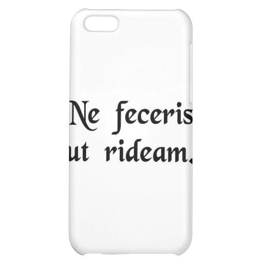 Lassen Sie mich nicht lachen iPhone 5C Hüllen