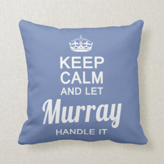 Lassen Sie Murray es behandeln Kissen