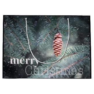 Lassen Sie Natur Weihnachtsgeschenk-Tasche singen Große Geschenktüte