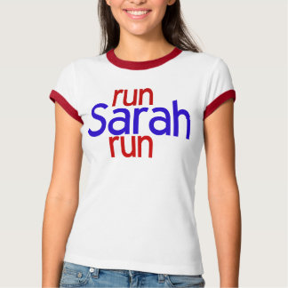 Lassen Sie Sarah-Lauf laufen T-Shirt