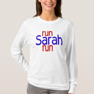 Lassen Sie Sarah LS laufen T-Shirt