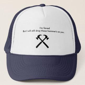 Lassen Sie sie Hammers auf Ihnen fallen Truckerkappe
