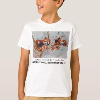 """""""Lassen Sie uns das T-Stück eines Freund-sein"""" T-Shirt"""