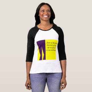Lässiges T-Shirt mit schrulligem Druck
