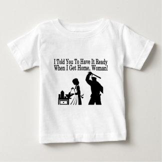 Lässt es vorbereiten baby t-shirt