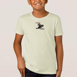 Lässt Fahrmädchen T-Shirt
