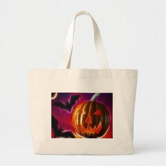 Lässt Halloween Jumbo Stoffbeutel