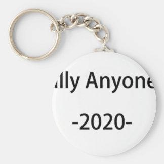 Lässt jemand anderes im Jahre 2020 wählen Schlüsselanhänger