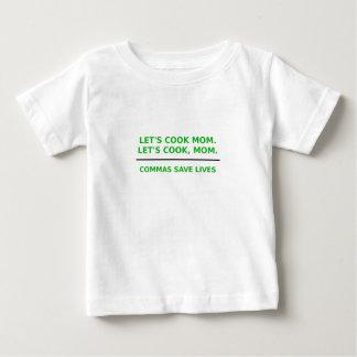 Lässt Koch-Mamma-Kommas die Leben retten Baby T-shirt