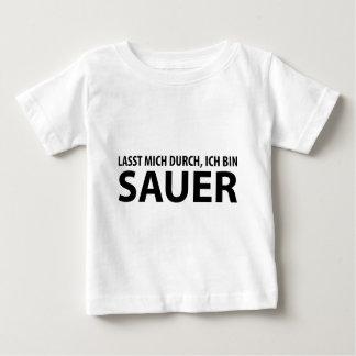 lasst mich durch, ich Behälter Sauer Baby T-shirt