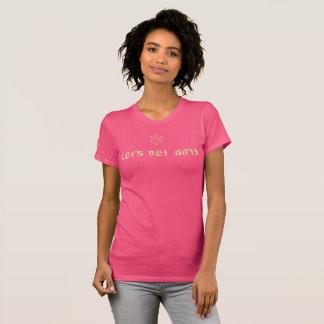 Lässt schmutzigen T - Shirt erhalten
