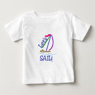 Lässt Segel Baby T-shirt