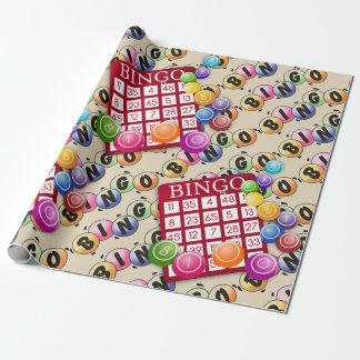 Lässt Spiel-Bingo-Verpackungs-Papier Geschenkpapier