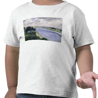 Lastkähne auf der Seine c 1869 T-Shirts