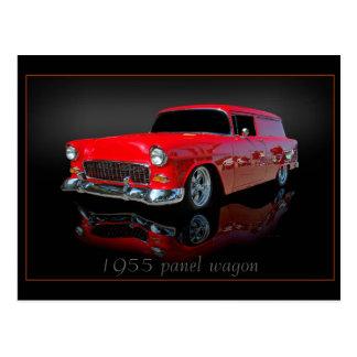 Lastwagen der Platte 1955 Postkarte