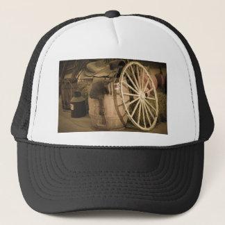 Lastwagen-Rad und Sattel Truckerkappe