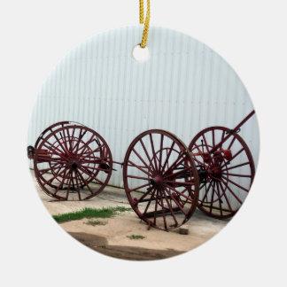 Lastwagen-Räder Keramik Ornament