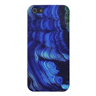 Lasurstein-Malachit Geode iPhone4 Fall Schutzhülle Fürs iPhone 5