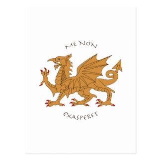 Lateinische Mottos und Wappenkunde Postkarte