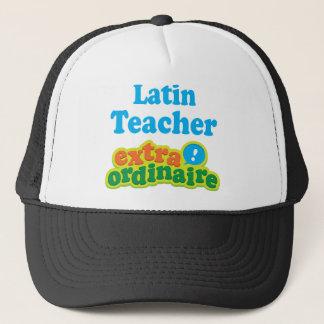 Lateinischer Lehrer-Extraordinaire Geschenk-Idee Truckerkappe