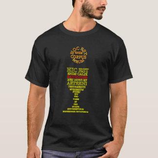 Lateinisches heiliges Abendmahl T-Shirt