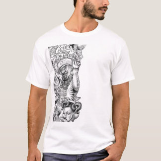 latino tattoo motif T-Shirt