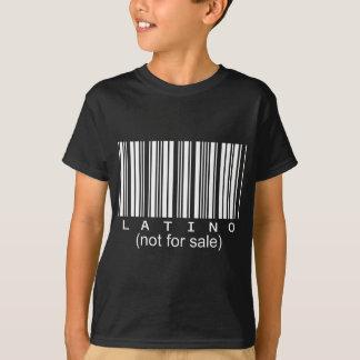 Latinobarcodeschwarz-T-Stück T-Shirt
