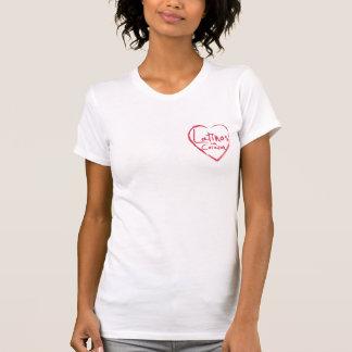 Latinos-Betrug Corazon Mode heftiges T-Stück T-Shirt