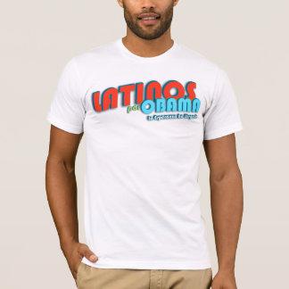 Latinos Por Obama 3 T-Shirt