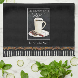 Latte Handtuch