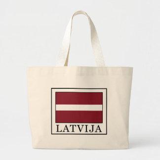 Latvija Jumbo Stoffbeutel