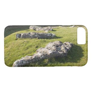 Lauben-niedriger Steinkreis in Derbyshire-Foto iPhone 8/7 Hülle