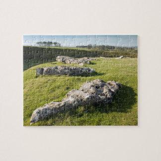 Lauben-niedriger Steinkreis in Derbyshire-Foto Puzzle