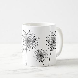 Lauch-Samen-Kopf-Tasse Kaffeetasse
