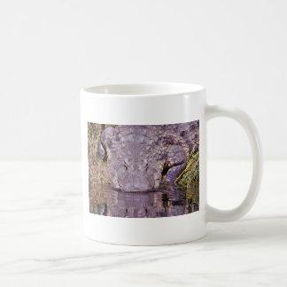 Lauernder Alligator Kaffeetasse