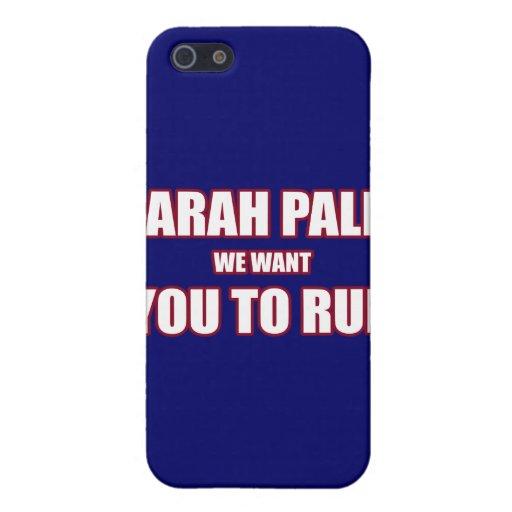 Lauf 2012 Sarahs Palin iPhone 5 Hülle