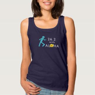 Lauf 26,2 mit Aloha Spaghetti-Trägershirt - Tank Top