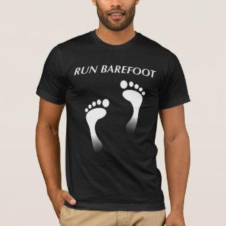 Lauf barfuß T-Shirt