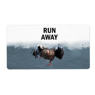 Lauf weg