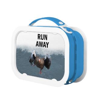 Lauf weg brotdose