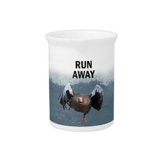 Lauf weg krug