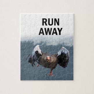 Lauf weg puzzle
