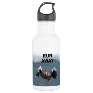Lauf weg trinkflasche