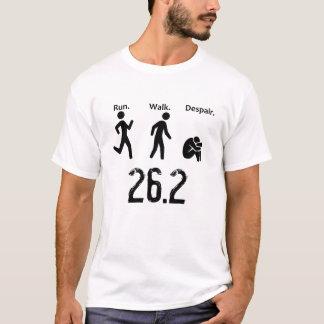 Lauf. Weg. Verzweiflung. Marathon T-Shirt