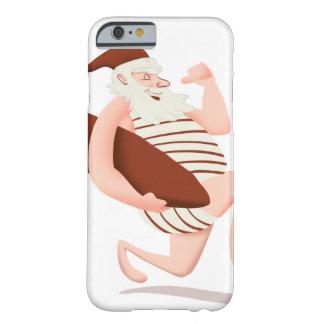 Lauf Weihnachtsmanns Surfensankt Klaus Barely There iPhone 6 Hülle